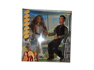 My Scene NIGHT on the TOWN 2003 Mattel collector doll set with Madison & Sutton