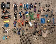 Big Mini Action Man Bundle Job Lot - Figures, Vehicle's,  Accessories