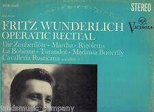 FRITZ WUNDERLICH - OPERATIC RECITAL [LP vinyl RCA VICTROLA]
