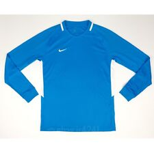 New Nike LS Park Men's M Long Sleeve Shirt Blue White Jersey Soccer 894511-406