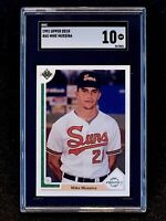 1991 Upper Deck Mike Mussina Rookie SGC 9.5 MINT+