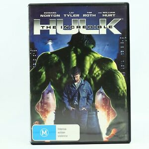 The Incredible Hulk DVD 2008 Edward Norton Good Condition Free Tracked Post