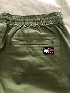 Mens Tommy Hilfiger Green Shorts Size L