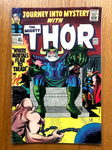 JOURNEY INTO MYSTERY -THOR 122 - SILVER AGE MARVEL COMICS