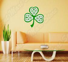 "Irish Ireland Shamrock Knot Celtic Wall Sticker Room Interior Decor 22""X22"""