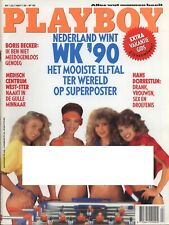 Dutch Playboy Magazine 1990-07 Bonnie Marino, Dutch Soccer Ladies ...
