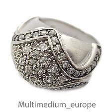 Prachtvoller vintage Damen Silber Ring Cubic Zirkonia silver ring zirconia