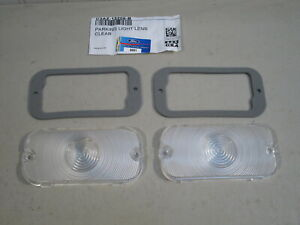 NEW 1964-1967 COMET, CYCLONE & 1967 MERCURY CLEAR PARKING LAMP LENSES