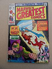 Marvel's Greatest Comics 23 . ( 1st Giant)  FF / .J.Kirby .Marvel 1969. FN