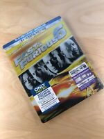 Fast & Furious 6 (Blu-ray/DVD, 2013) Best Buy Extended Edition Steelbook NEW DC