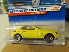 Hot Wheels Mercedes SLK 1998 First Editions Yellow 5 hole
