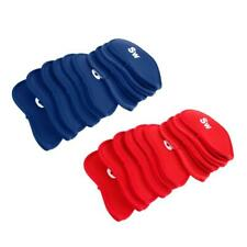 20Pcs Neoprene Golf Iron Headcover Putter Head Protector Cover Case Blue/Red