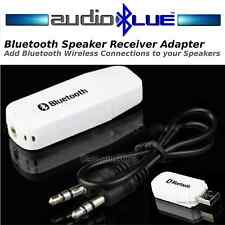 AudioBLUE- Bluetooth Stereo Speaker Adapter-Aux in-Convert Speakers to Bluetooth