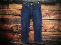 Levi's 541 Men's 32 x 28 Athletic Taper Fit Stretch Denim Medium Wash Blue Jeans