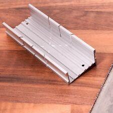 METAL Mitre Cutting Box Wood/Pine/Timber Saw Small Skirting Rail Midi Holder