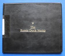 Russia (RD13) 2001 Russia Duck Stamp Artist Signed Miniature Sheet Folio