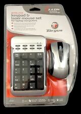 Targus Wireless Keypad & Laser Mouse Set For Laptop Computers