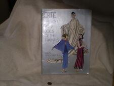 """Erte' Fashion Paper Dolls of the Twenties"" , S. Johnston, Dover Pub 1978"