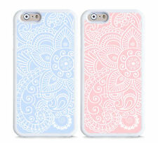 NEW case,cover, blue, pink mandala geometric,paisley,henna,floral design,flower
