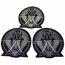 Stargate SG-1 Television Show Stargate Command Embroidered Patch Set of 3