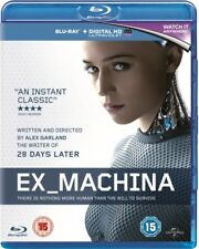 NEW Ex Machina Blu-Ray
