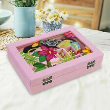 Jewelry Storage Box Diy Diamond Painting Rhinestones Mosaic Embroidery Tool Kit