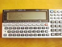 CASIO Pocket Computer VX-2 BASIC CASL C-LANGUAGE Tested Working Moving works