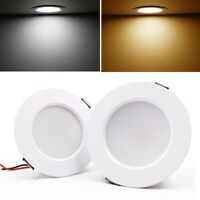 Dimmable LED Panel Downlight Recessed Ceiling Light Spotlight 5W 9W 12W 15W