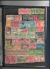 Clasificador con 905 sellos nuevos y usados de paises Hispanoamericanos