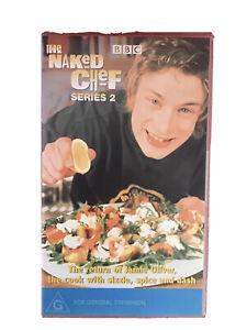 The Naked Chef VHS Retro Vintage Video Cassette Jamie Oliver