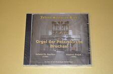 Bach - Orgel Der Peterskirche Bruchsal / Andreas Schröder / Galaxia / New OVP