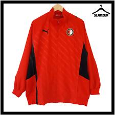 More details for feyenoord rotterdam football jacket puma l large soccer training track top nn4