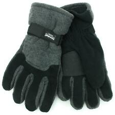 Thinsulate Mens Thick 2-Tone Gloves Hawkins Fleece Warm Thermal Winter Lined