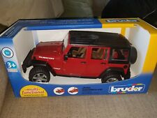 Bruder 02525 Jeep Wrangler Unlimited Rubicon MIB/New