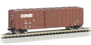Micro Trains Norfolk Southern NS SOU 50' Rib Side Plug Door Boxcar N Scale 27230