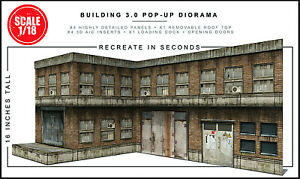 Extreme Sets Building 3.0 Pop-Up Diorama 1/18 Scale for 3.75in-4in Figures