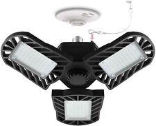 LED Garage Lights, 60W 6000K 6000LM E26 Garage Ceiling Lighting Deformable