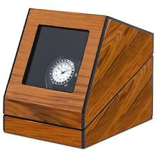 Orbita Siena 1 Single Automatic Watch Winder - Programmable Teak Wood W13005