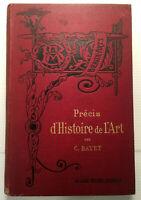 HISTOIRE de l'ART DEPUIS ANTIQUITE GRECE ARABE ORIENT +JOLI CARTONNAGE TBE+LIVRE