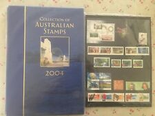 Collection of 2004 Australian Post YearBook Album with MUM Stamps - Deluxe