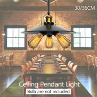 3-heads Light Vintage Industrial hanging Ceiling Lamp Pendant Light holder Cover