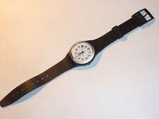 vintage Watch MONTRE suisse swiss 1995 SWATCH uhr CALENDRIER phosphorescent