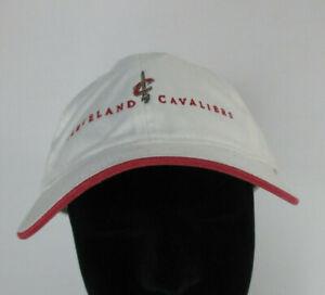 Cleveland Cavaliers White Strapback Baseball Hat NWT