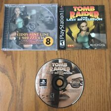 Playstation 1 PS1 Tomb Raider : The Last revelation complete with manual
