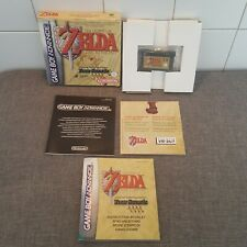 The legend of zelda a link to the past Four Sword Game Boy Advance Complet