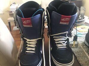 vans snowboard boots 8.5