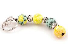 Viva Beads Green Envy 4 Ball Key Chain