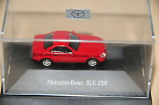 Herpa MB SLK 200 230 R 170 rojo rouge rojo red new Boxed h0 1:87 Mercedes Benz