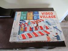 1960 Vintage Video Village Board Game Milton Bradley 4060 Complete
