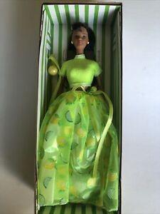 Lemon-Lime Sorbet Barbie Doll African-American F120111 Mattel Avon 1999 NIB